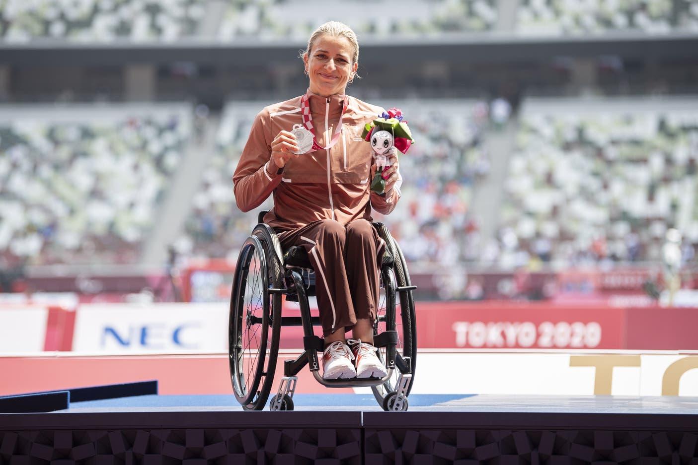 Manuela Schär 5000m Silbermedaille Tokio